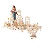 Guidecraft Classroom Unit Blocks - 110 Pieces