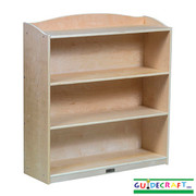 Guidecraft 4 Shelf Bookshelf