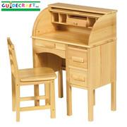 Guidecraft Jr Roll-Top Desk - Light Oak