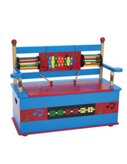 Levels of Discovery Musical Bench Seat with Storage