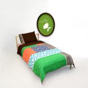 Aunt Bucky Buta Shop Twin Quilt and Pillowcase Set