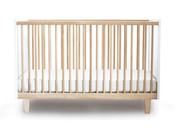 Oeuf Rhea Crib in Birch-White