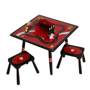 Levels of Discovery Firefighter Table and 2 Stool Set