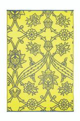 Koko Company 4' x 6' Floormat Fuschia Flower - Slate