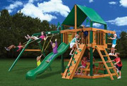 Gorilla Playsets Chateau II Deluxe - Green Vinyl