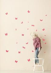 Ferm Living  Mini Butterflies - Neon Wall Stickers