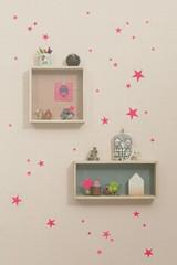 Ferm Living  Mini Stars  - Neon Wall Stickers