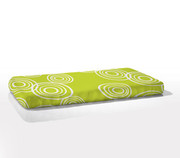 Nook Sleep Systems Fitted Crib Sheet - Puddle Lawn