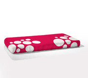 Nook Sleep Systems Fitted Crib Sheet - Stone Blossom