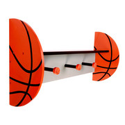 Trend Lab Basketball Wall Shelf with Pegs