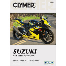 Clymer M266 Service Shop Repair Manual Suzuki GSX-R1000 2005-2006