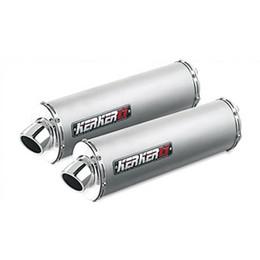 "Kerker Sport Performance Series Exhaust for Silencer ELLIP 2""CORE RHT RB TI"