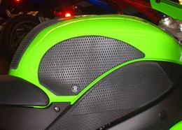 TechSpec Snake Skin Gripster 4 Piece Grip Kit for Kawasaki ZX-6R 07-08