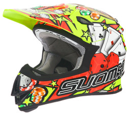 Suomy MX Jump Jackpot Yellow Helmet