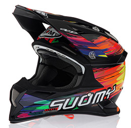 Suomy Carbon Alpha Torched Helmet