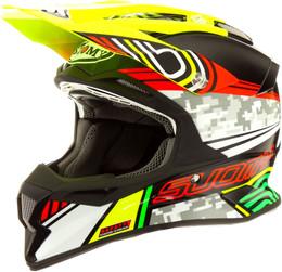 Suomy Carbon Alpha Pixel Helmet