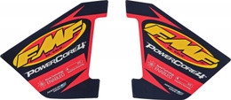 FMF EXHAUST 4-STROKE HEX POWERCORE DECAL (012784)