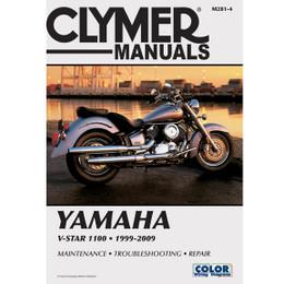 Clymer M281-4 Service Shop Repair Manual Yamaha V-Star 1100