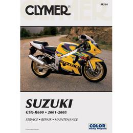 Clymer M264 Service Shop Repair Manual Suzuki GSX-R600 2001-2005