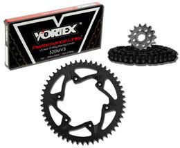 Vortex CK2207 Chain and Sprocket Kit MXA HON CR250R 06-08 (1U,ALU)