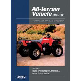 Clymer ATV2-1 Service Shop Repair Manual All-Terrain Vehicles Vol 2