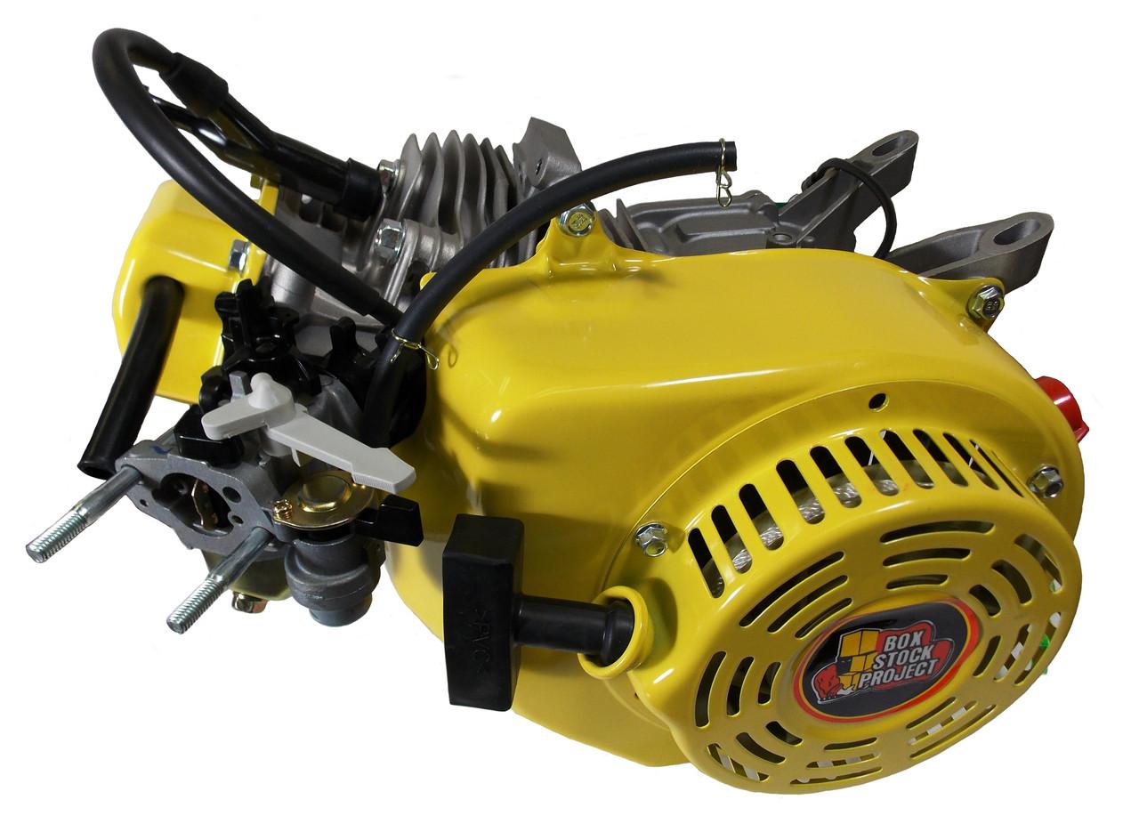 196cc Honda Clone Engine: Dj 1000 196cc Box Stock Project