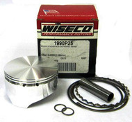 "1990P25 Wiseco Piston 2.587"" w/Rings, Pin, & Circlips"
