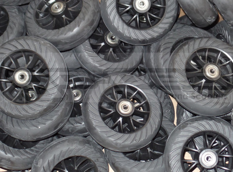"""Wheel Case Complete QTY20 with Wheels and 1/2"""" Bearings"""
