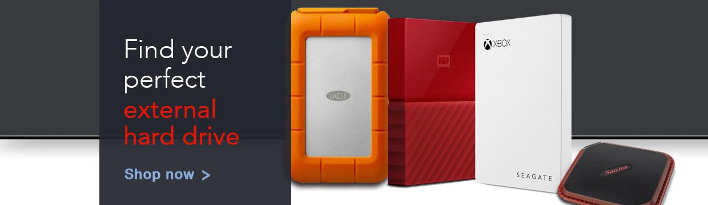 External hard drives