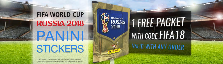 Russia 2018 Panini stickers