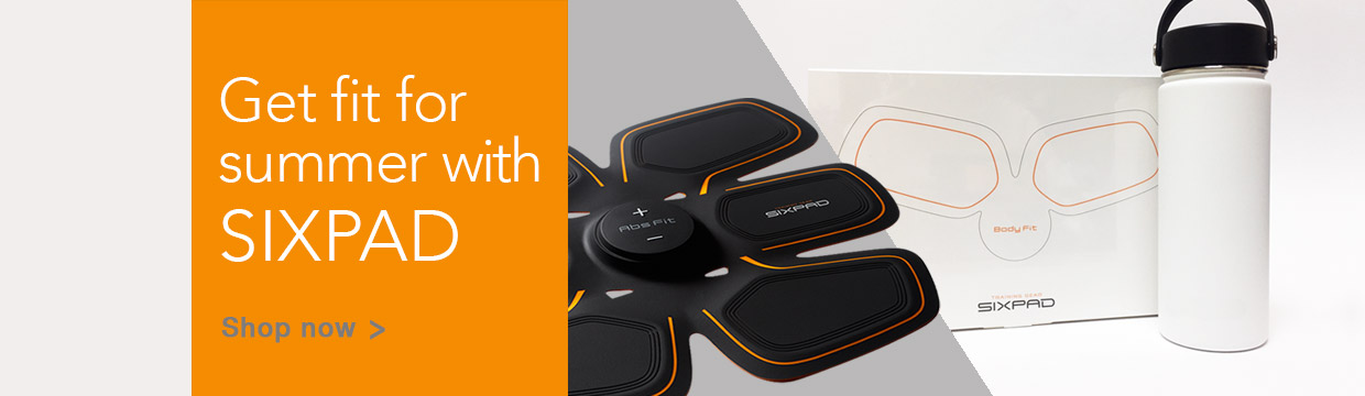 Get fit for summer with SIXPAD