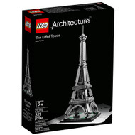 Lego Architecture The Eiffel Tower - 21019 - Front Cover