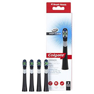 Colgate ProClinical Black Replacement Electric Toothbrush Heads - Pack of 4