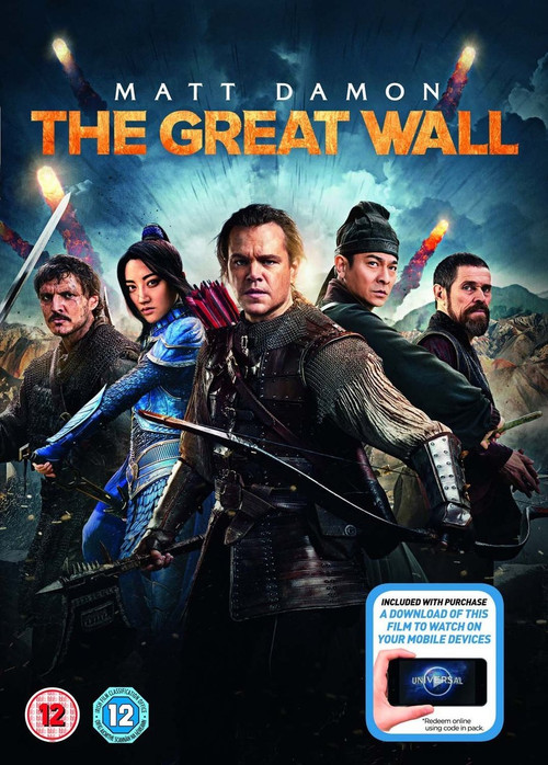 The Great Wall [2017] [DVD] Cover