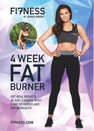 Fi7ness by Jessica Wright 4 Week Fat Burner 2017 DVD