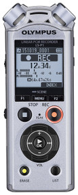 Olympus LS-P1 4GB Hi-Resolution Audio Recorder, Silver