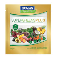 Bioglan Supergreens Plus 101 Powder, 100g