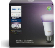 Philips Hue White Colour Ambience E27 Bulb Kit With Alexa