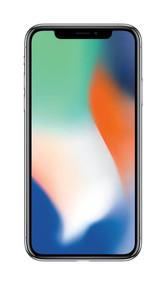 Apple iPhone X SIM-Free Smartphone - Silver, 64GB