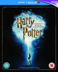 Harry Potter - Complete 8-Film Collection (2016 Edition) [with Digital Download] [Blu-ray + UV Copy] Region Free
