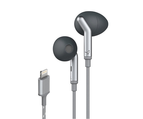 Libratone Q Adapt Lightning In-Ear Noise Cancelling Headphones - Stormy Black