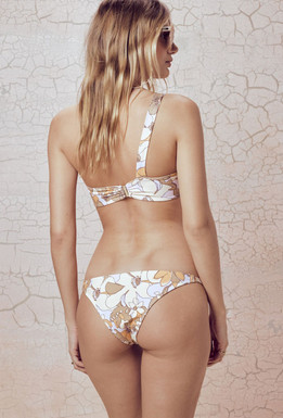 For Love & Lemons Swim Coco Low Rise Bottom In Floral