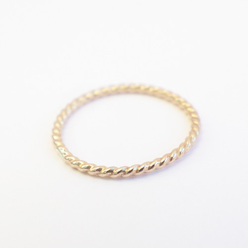 Plain- Twisted Gold