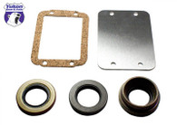 Dana 30 30Spline Disconnect block-off kit. (includes seals and plate)
