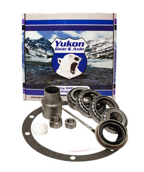 Yukon bearing install kit for Dana 30 front differential, without crush sleeve.