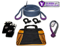 """Yukon recovery gear kit with 3/4"""" kinetic rope"""