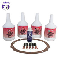 "Redline Synthetic Oil with additive and gasket for Toyota V6 and 8""."