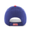 Chicago Cubs Blue 47Brand MLB Red Logo Velcro Clean Up Hat