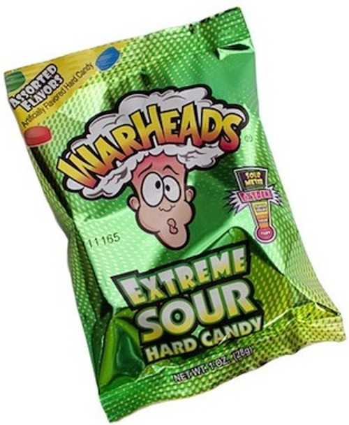 War Heads Extreme Sour Hard Candy