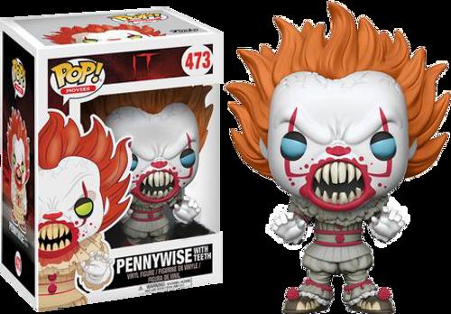 IT (2017) - Pennywise with Teeth US Exclusive Pop! Vinyl Figure